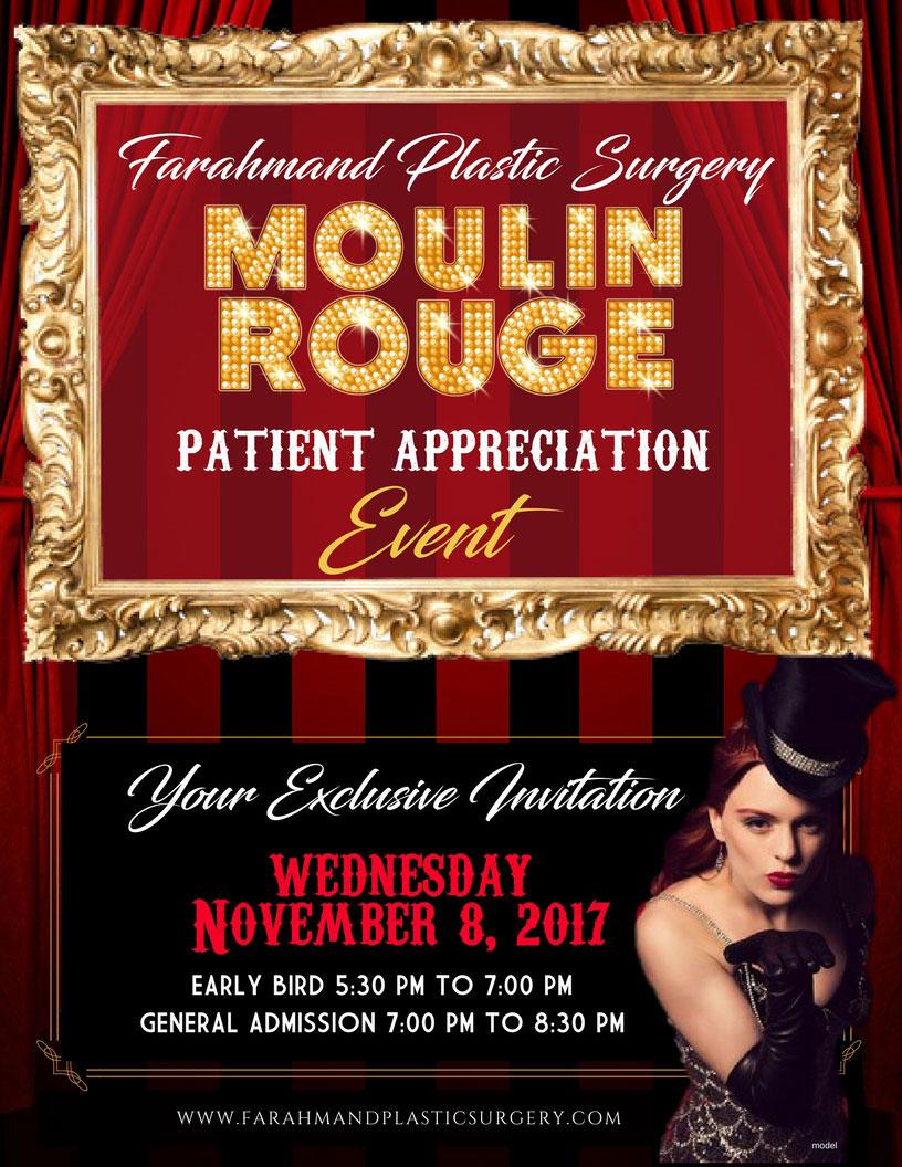 Moulin Rouge Patient Appreciation Event